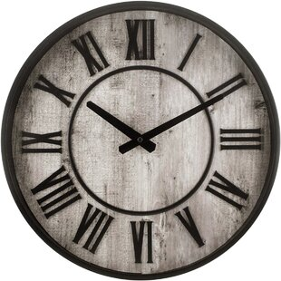 Roman Numeral Clock Wayfair