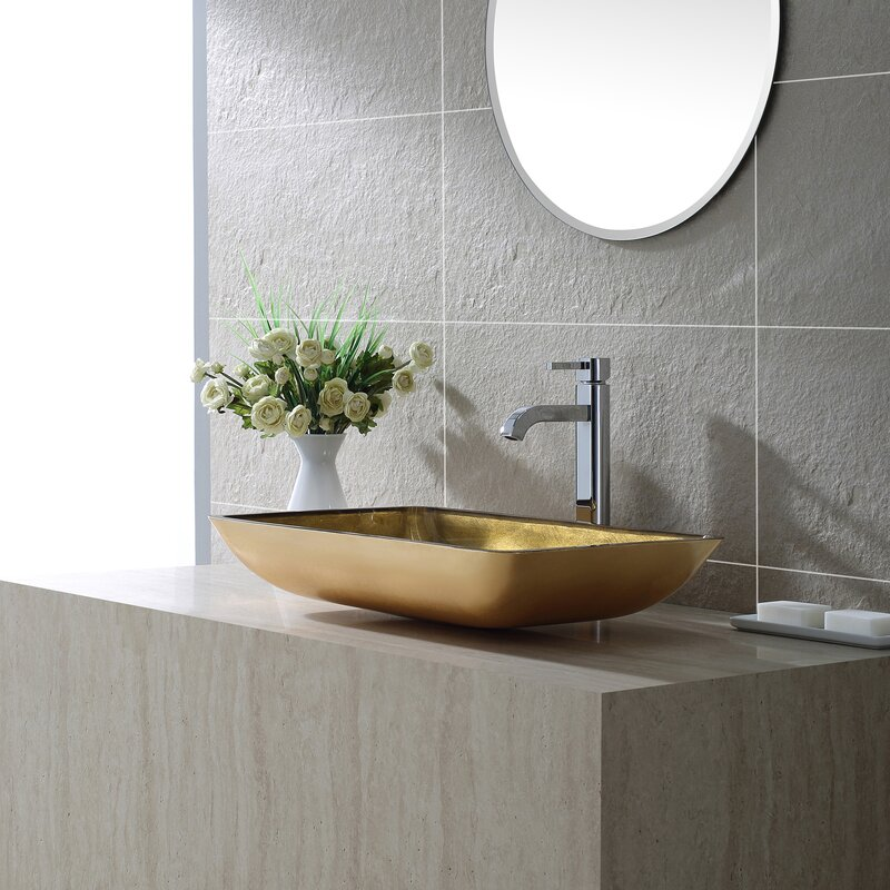 Ramus Single Handle Vessel Sink Bathroom Faucet