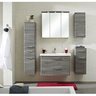 Archer 30 X 142cm Tall Bathroom Cabinet By Quickset