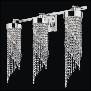 Glow Lighting Intuition 3-Light Armed Sconce