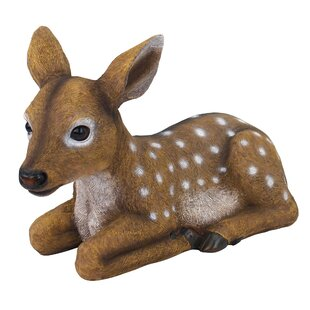 Darby The Forest Fawn Baby Deer Statue