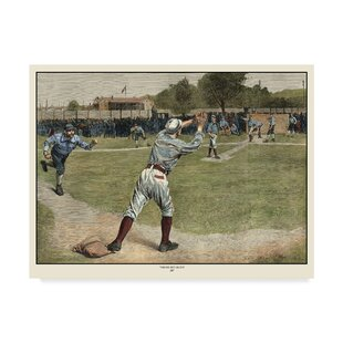 'Thrown Out On 2nd 1887' Print on Wrapped Canvas by Charlton Home
