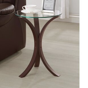 Landman Contemporary End Table by Winston Porter