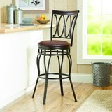 Oxendine Swivel Adjustable Height Bar Stool by Canora Grey