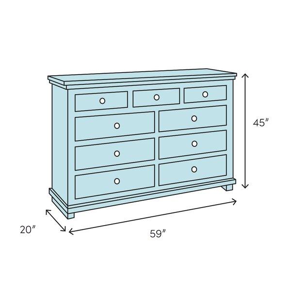 Gracie Oaks Hackney 7 Drawer Dresser Wayfair