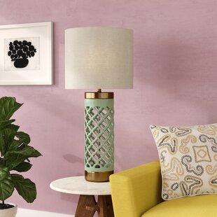 Blinda Transitional Ceramic and Metal 35 Table Lamp