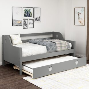 Balvin Twin Bed with Trundle
