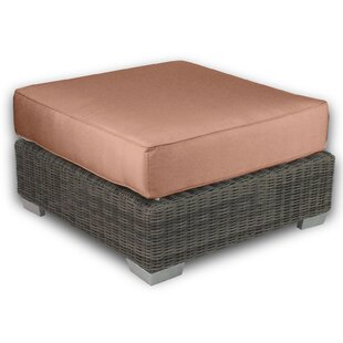 Patio Heaven Palisades Ottoman with Cushion