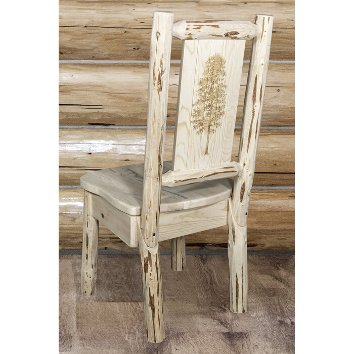 Cool Tustin Rustic Solid Wood Dining Chair Ibusinesslaw Wood Chair Design Ideas Ibusinesslaworg