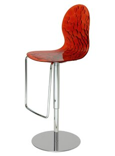 Rojas Adjustable Swivel Bar Stool By Ebern Designs