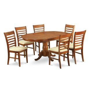 Portland 5 Piece Dining Set by East West Furniture Great Reviews