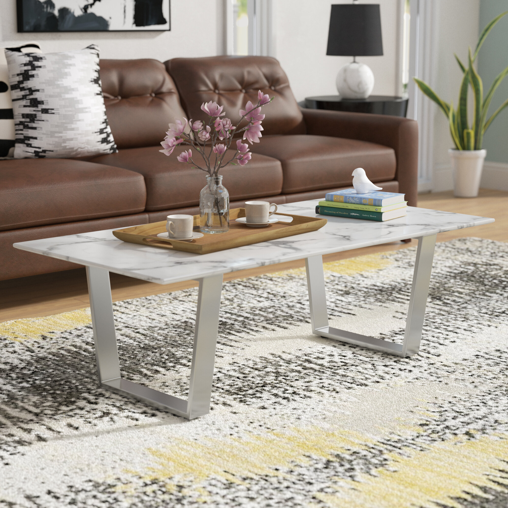 Wade logan geelong coffee table wayfair