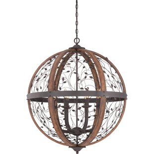 Travers 8-Light Globe Pendant by Loon Peak