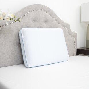 Shaw Reversible Medium Gel Memory Foam Standard Bed Pillow