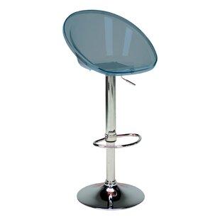 Laverne Adjustable Height Swivel Bar Stool (Set of 2)