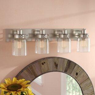 Vasilia 4-Light Vanity Light By Laurel Foundry Modern Farmhouse