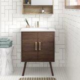 "Matthews 24"" Single Bathroom Vanity Set"