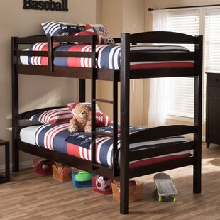 Perkinson Twin Over Twin Bed by Harriet Bee