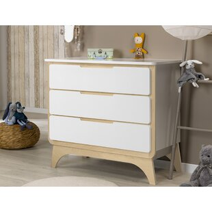 Bonheur 3 Drawer Dresser By Sofamo