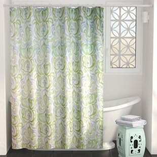 Shower Curtains With Valance | Wayfair