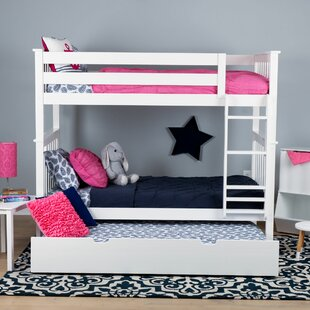 Walters Twin over Twin Bunk Bed with Trundle