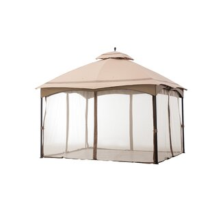 Bayshore 12 Ft. W x 10 Ft. D Metal Patio Gazebo by Sol 72 Outdoor