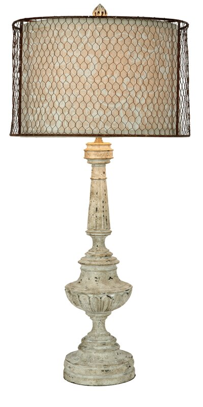 "Perm 33.3"" Table Lamp"