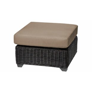 Mejia Outdoor Ottoman with Cushion
