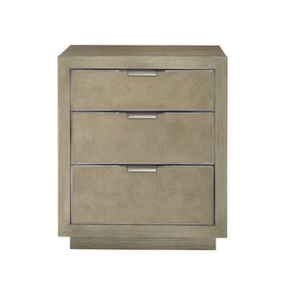 Mosaic 3 Drawer Nightstand