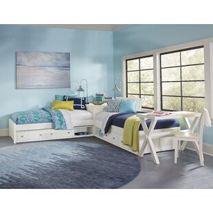 Granville Twin Platform L-Shaped Bed with Storage