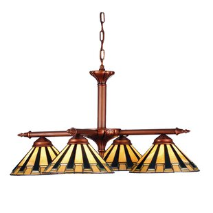 Meyda Tiffany Steppe 4-Light Shaded Chandelier