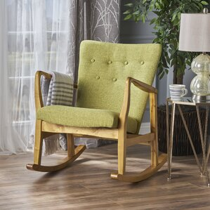Sauceda Fabric Rocking Chair