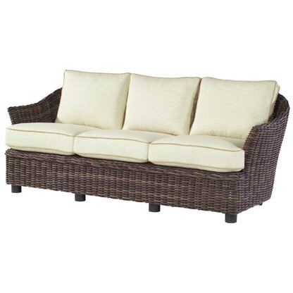 Skyline Design Cuatro Patio Sofa With Sunbrella Cushions
