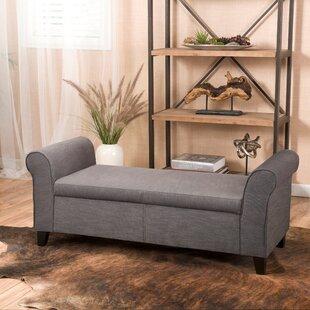 Alcott Hill Varian Upholstered Storage Be..