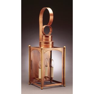 Buying Suffolk 3-Light Outdoor Wall Lantern By Northeast Lantern