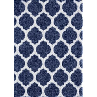 Find for Nannie Blue/White Area Rug ByZipcode Design
