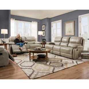 Latitude Run Weccacoe Reclining 3 Piece Living Room Set