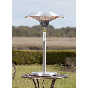 Attractive Cimarron Halogen 1500 Watt Electric Tabletop Patio Heater
