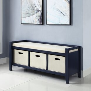 Great Price Belen Upholstered Storage Bench By Breakwater Bay