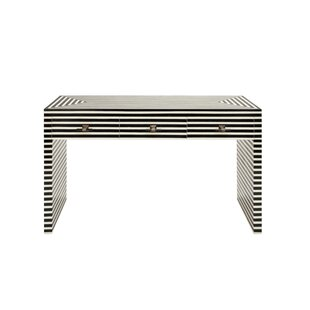 Worlds Away 3 Drawer Console Table