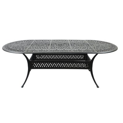 Maltby Aluminum Dining Table by Astoria Grand Today Sale Only