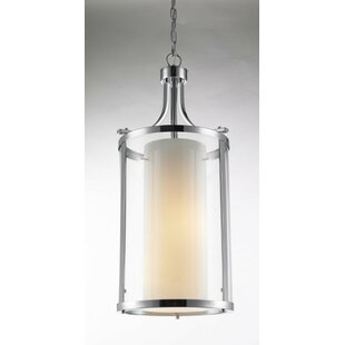 Ivy Bronx Yerington 1-Light Cylinder Pendant