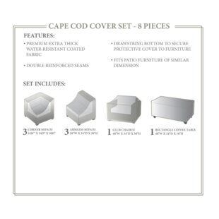 TK Classics Cape Cod Winter 8 Piece Cover..