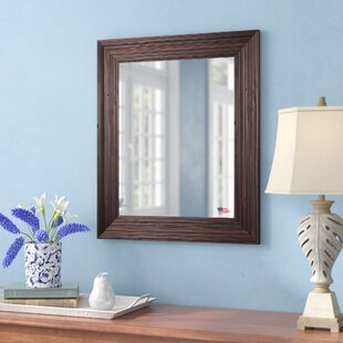 Neilsen Rectangle Wall Mirror by Three Posts