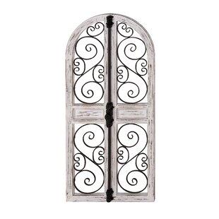 Vicknair Wood Door Wall Decor by Ophelia & Co.