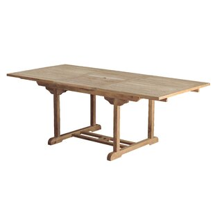 Bermuda Teak Rectangular Dining Table