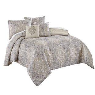 Varna 7 Piece Reversible Comforter Set
