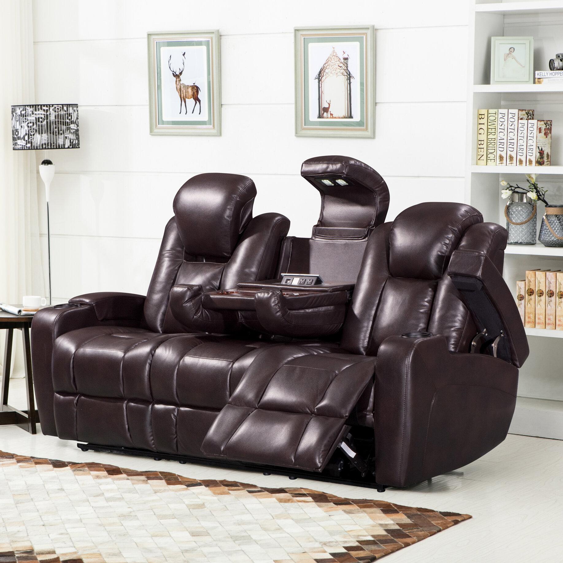 Red barrel studio piccadilly air transforming power reclining sofa reviews wayfair