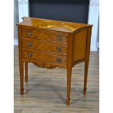 Bucyrus 36 Wide 3 Drawer Mahogany Wood Server by Astoria Grand