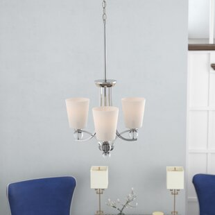 Willa Arlo Interiors Gace 3-Light Shaded Chandelier